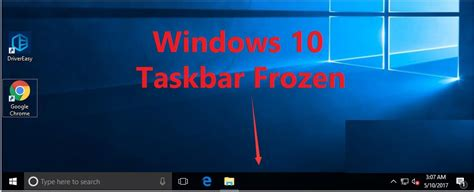 Start Bar On Top by Solved Windows 10 Taskbar Frozen Top Effective Ways