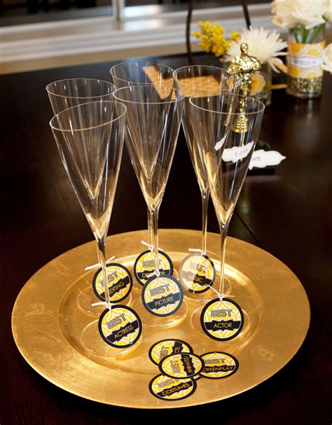 new oscars party theme free printables hostess with