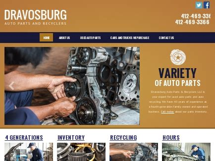 Auto Parts Recyclers by Dravosburg Auto Parts Recyclers Dravosburg Pa