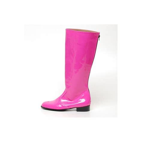 mens pink boots s inner leather knee high boots