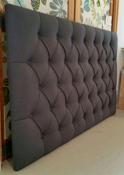 upholstered grey headboard best 25 grey upholstered headboards ideas on pinterest