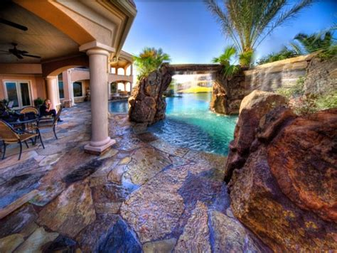 backyard lagoon natural looking backyard pool lagoon houses pinterest