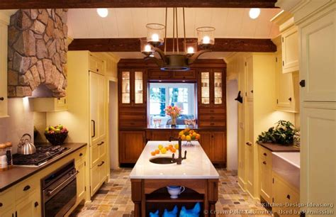 yellow kitchen dark cabinets pictures of kitchens traditional yellow kitchen cabinets