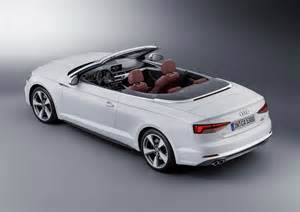 Audi Convertible A5 2017 Audi A5 Convertible Picture 694389 Car Review
