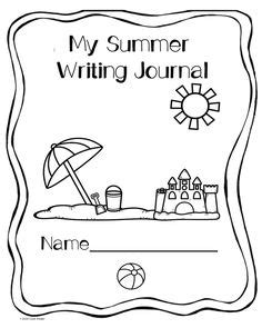 printable winter journal cover 1000 images about summer school activities on pinterest
