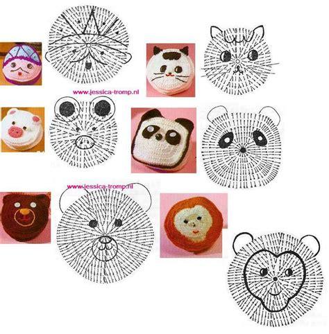 apliques infantiles a crochet caritas patrones de crochet infantiles patrones crochet