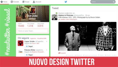 twitter new layout 2014 newtwitter twitter cambia design e si fa pi 249 visual