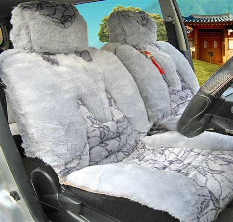 plush seat covers buy wholesale winter fleece leopard grain auto seat