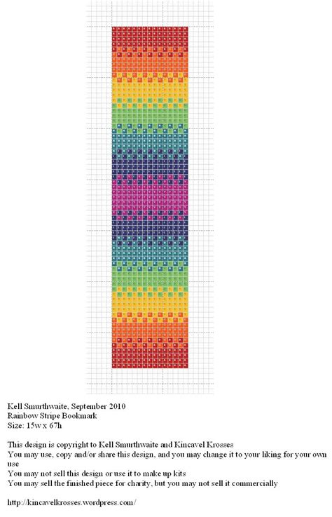 printable rainbow bookmarks rainbow stripe bookmark kincavel krosses