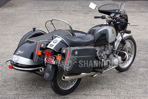 1975 bmw motorcycle sold bmw r90s motorcycle with tillbrook sidecar auctions