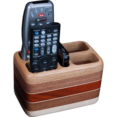 remote holder for oak wood remote holder ode to wood