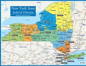 New York Map Districts by New York Map Districts