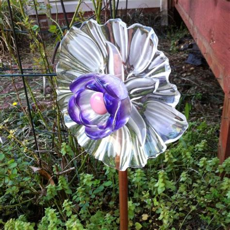 Garden Glass Flowers Glass Garden Flower Glass