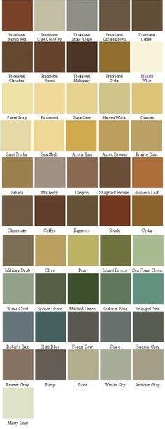 Behr Deckover Color Card
