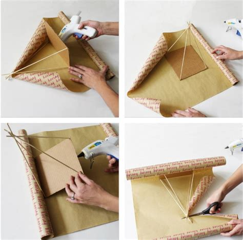 How To Make A Teepee Out Of Paper - teepee gift wrapping a joyful riot