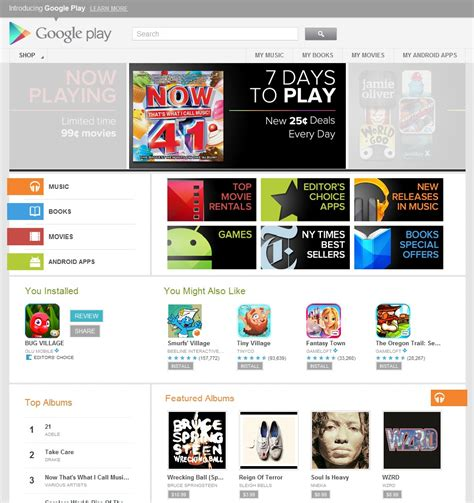 google play goodbye android market hello google play techcrunch