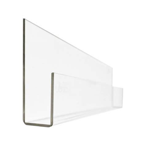 Clear Shelf by Leo Ubabub Booksee Clear Acrylic Book Shelf Set Of 2