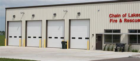 St Cloud Overhead Door V Groove Insulated Commercial Garage Doors St Cloud Mn Adw