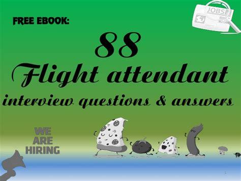 jetblue flight attendant 53 interview questions for jetblue career