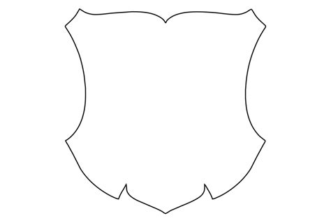 crest template blank coat of arms template clipart best