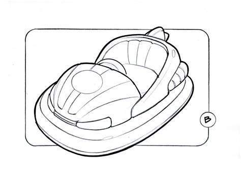 bumper cars coloring pages bumper cars drawing www pixshark images galleries