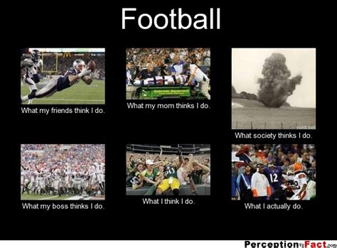 I Thought This Was A Football by Football What Think I Do What I Really Do