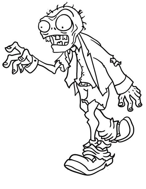 Free Printable Zombies Coloring Pages For Kids Free Printable Colouring Pages