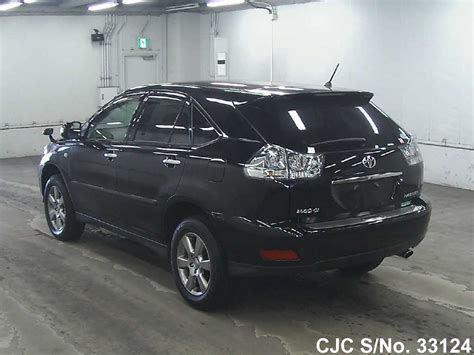 used toyota harrier picture image 2012 toyota harrier black for sale stock no 33124