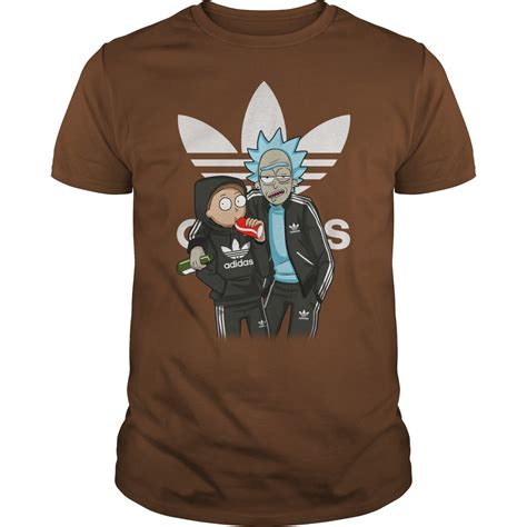 fan made t shirts fan made rick and morty adidas t shirt hoodie