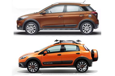 Hyundai i20 Active vs Fiat Avventura: Specifications