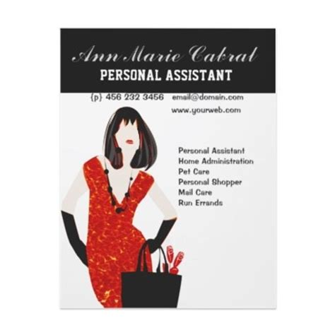 Personal Assistant Business Card Template by 17 Best Images About Personal Assistant On