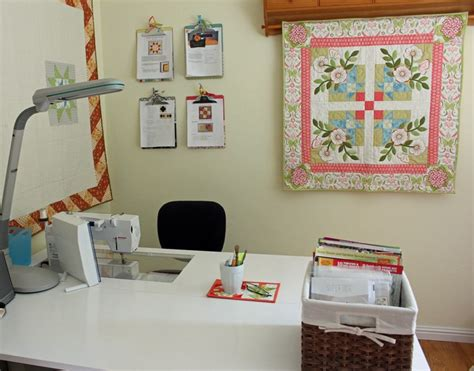 Quilt Room Design by Sewing Room Tour The Crafty Quilter