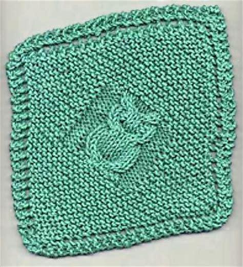 cable knit dishcloth pattern owl dishcloth knitting free pattern knitting