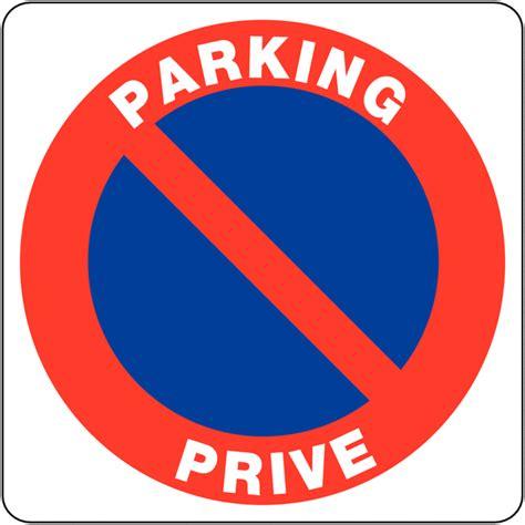 1 1 2 Std Pvc Ovs rechthoekige borden verboden te parkeren priv 233 parking