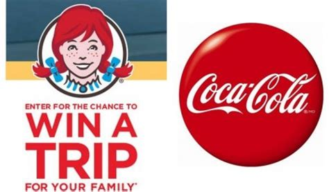 Where Can I Buy Wendy S Gift Cards - sweepstakes win a trip 1 000 gift card from wendy s coca cola