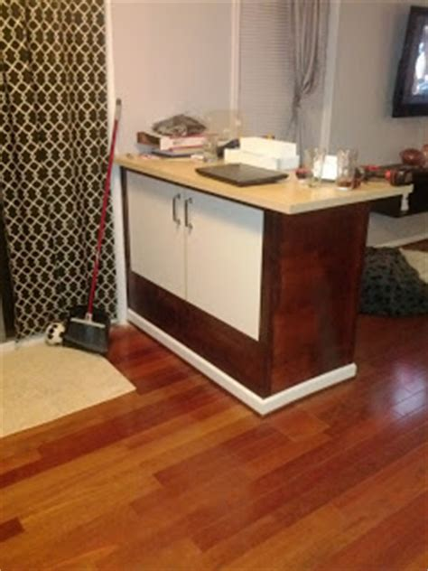 ikea bar sink cabinet varde sink cabinet becomes breakfast bar ikea hackers