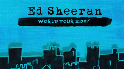 Ed Sheeran Ticket Giveaway - win your tickets to see ed sheeran