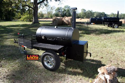 Bbq Pit Backyard 48 Quot Original Lang Smoker Cooker