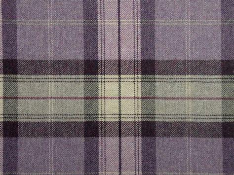 tartan plaid drapes curtain fabric highland wool tartan amethyst check plaid