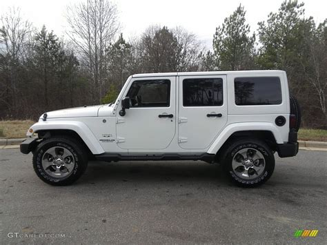 white jeep 2017 2017 bright white jeep wrangler unlimited 4x4