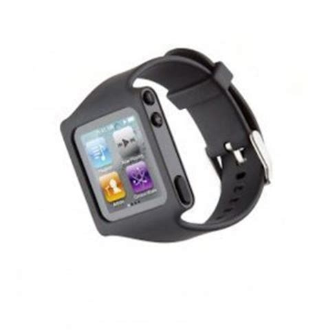 Shimura Offers Protection For Your Nano by Wear Your Ipod Nano 6g Like An Iwatch 6 Wrist Straps