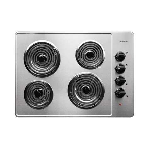 30 Electric Cooktop Frigidaire Ffec3005ls 30 Quot Electric Cooktop With Coil Elements