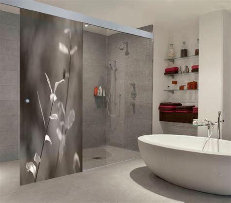 Splashback Ideas For Kitchens created art work on shower splashback for private client