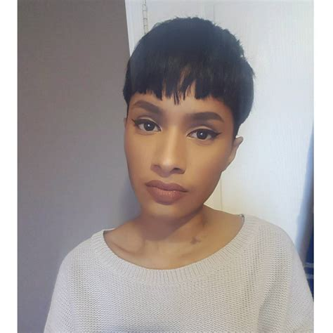 blunt cuts on african american women blunt pixie haircut haircuts models ideas