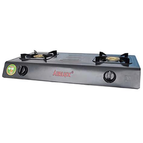 Teflon Airlux jual kompor gas airlux 2 tungku gc 2202 tf lapisan teflon murah harga spesifikasi