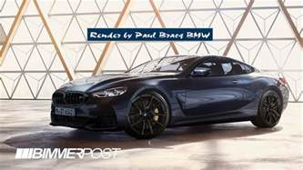Bmw M8 This Bmw M8 Render Is Probably To The Real Deal