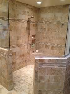 kc master bathroom remodel walk in shower home
