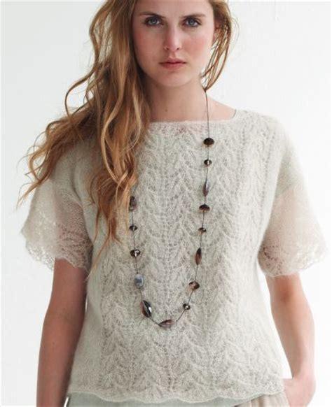 top knitting patterns a crush on lace knit top allfreeknitting