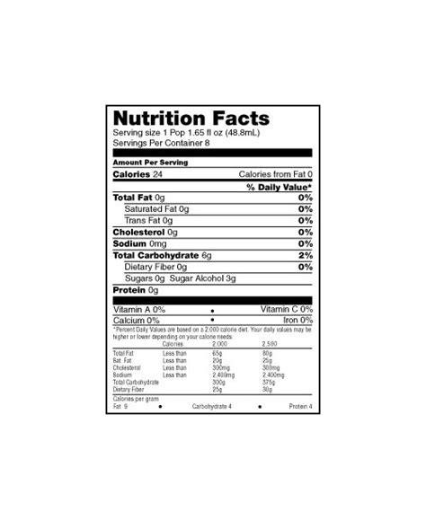wyler s light singles to go nutritional information wylers 174 light pops