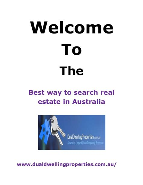 Best Way To Search For The Best Way To Search Real Estate In Australia